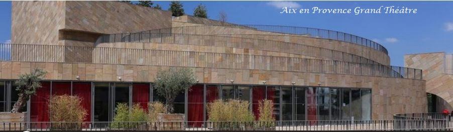 Aix en provence Grand Theatre
